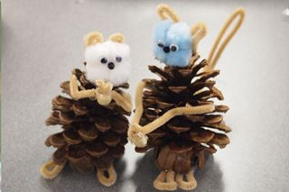 Pine Cone Squirrel - Critter Crafts: Bug Crafts for Kids