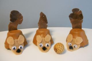 Nutty Squirrel Craft & Game - Critter Crafts: Bug Crafts for Kids