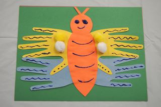 Hand-Trace Butterfly - Critter Crafts: Bug Crafts for Kids