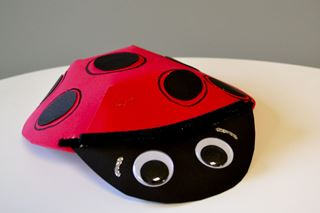3D Ladybug - Critter Crafts: Insect Craft Activities for Elementary Students